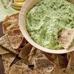 Spinach Dip and Tortilla Chips!
