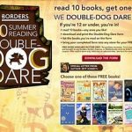 Borders Summer Reading Dare For Kids!