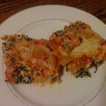 Spinach Lasagna. Yum!