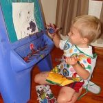 Toddler Talk Thursday: Art!