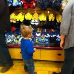 Wordless Wednesday: First Time at Build A Bear!