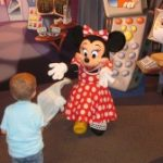 Wordless Wednesday: Meeting Disney Characters!