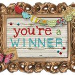 Winners! Glass Pocket Vase, Kranky Krab, Target and more!