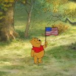 Happy 4th of July from Winnie the Pooh!