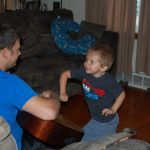 Wordless Wednesday: Guitar with Daddy