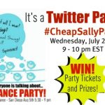 Cheap Sally Twitter Party!