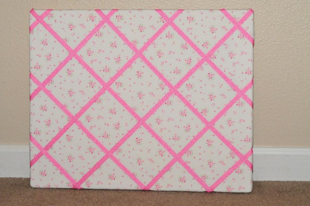 How to Make a Ribbon Memo Board