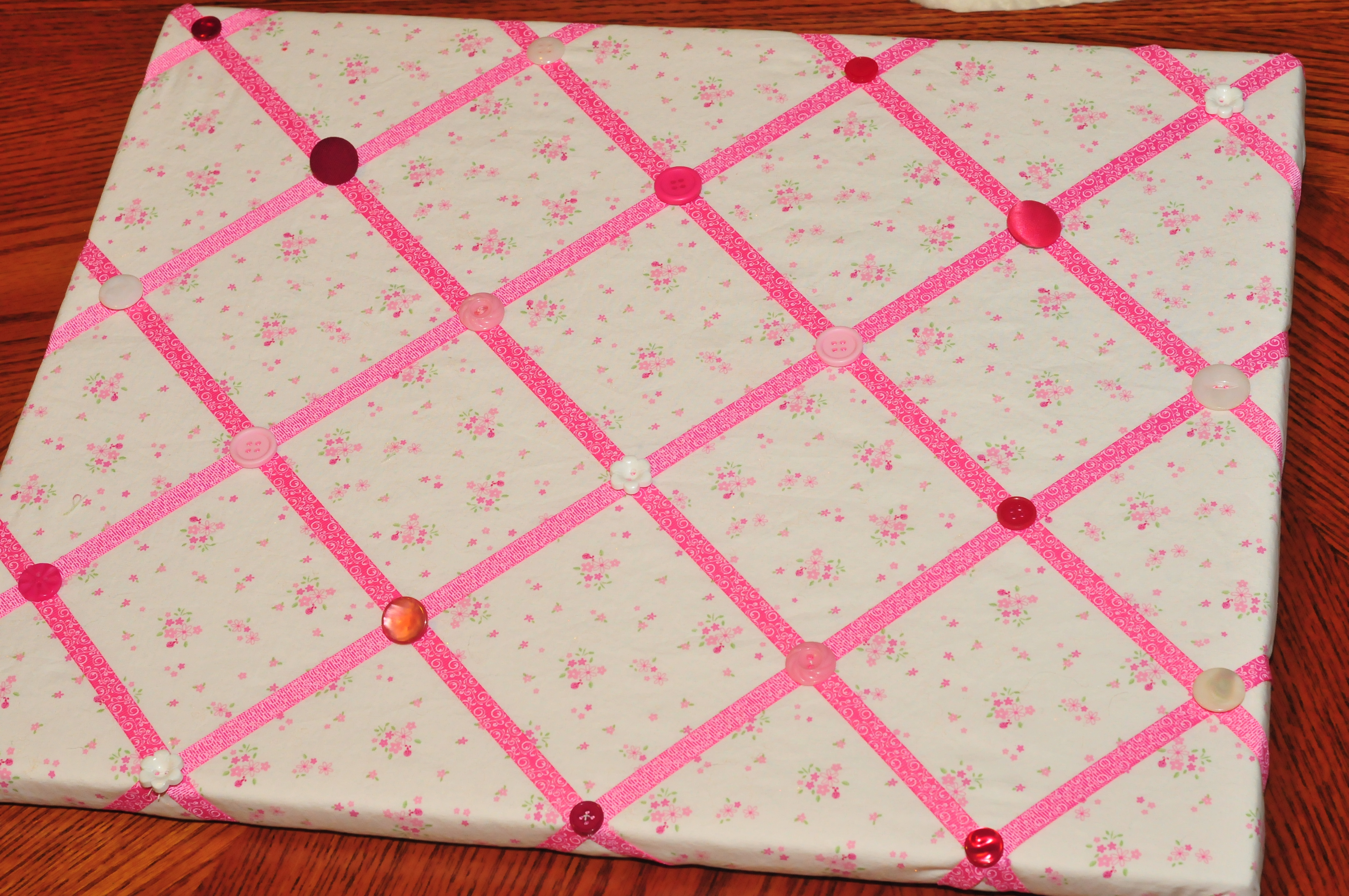 Brand-new How to Make a Ribbon Memo Board! - Sippy Cup Mom KV07