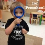 Prepping for Preschool