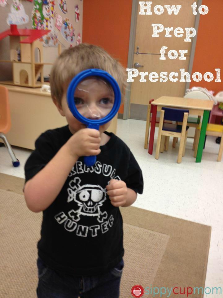 How to Prep for Preschool