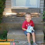 Wordless Wednesday: First Day of Preschool!