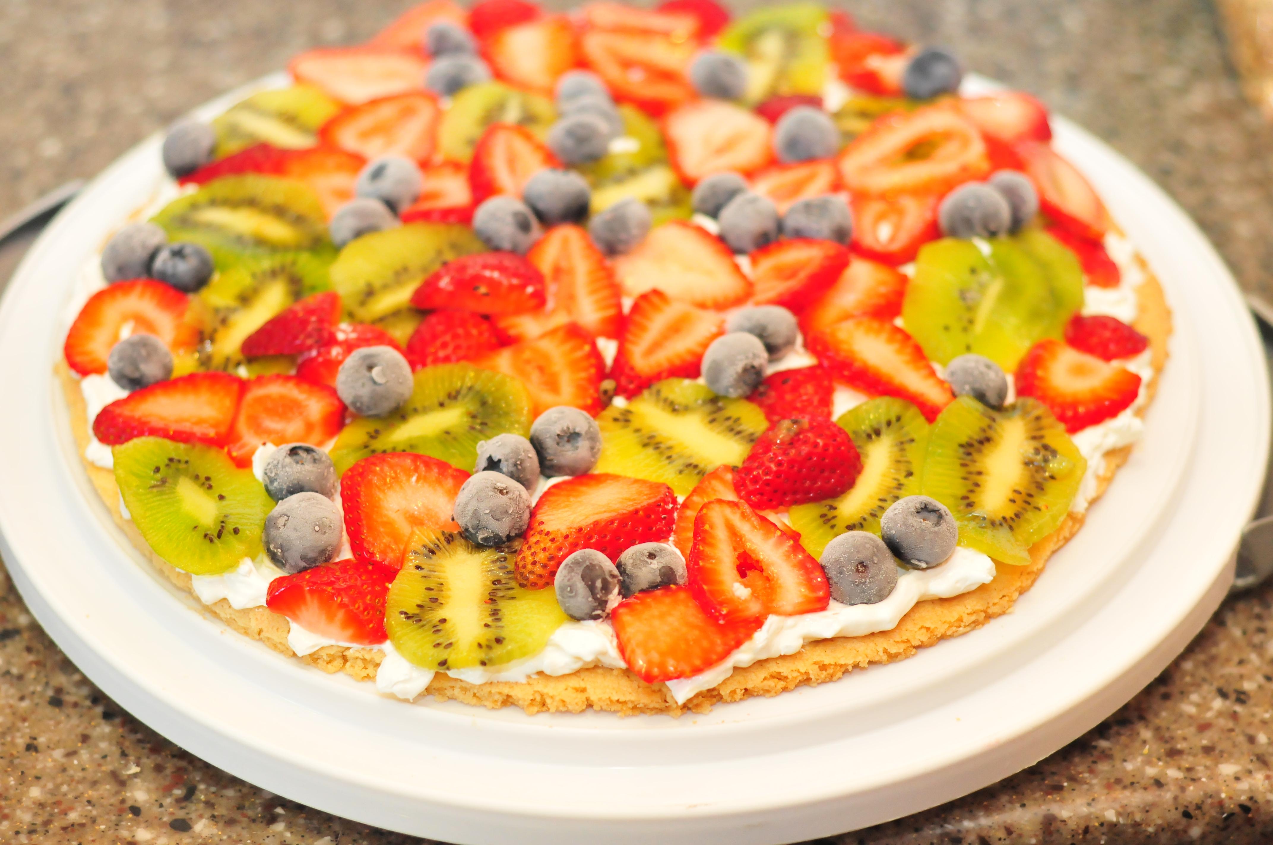 Recipe EASY Kid Friendly Dessert Fruit Pizza