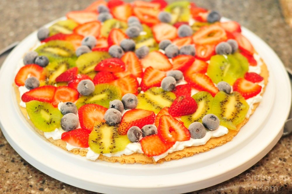 Easy Fruit Pizza for Kids