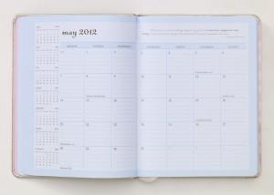 desktop planner monthly view