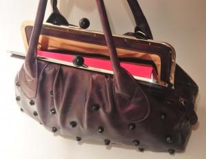 momagenda planner in purse