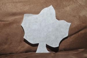 coffee filter leaf shape