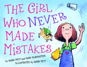 Front cover of The Girl Who Never Made Mistakes book