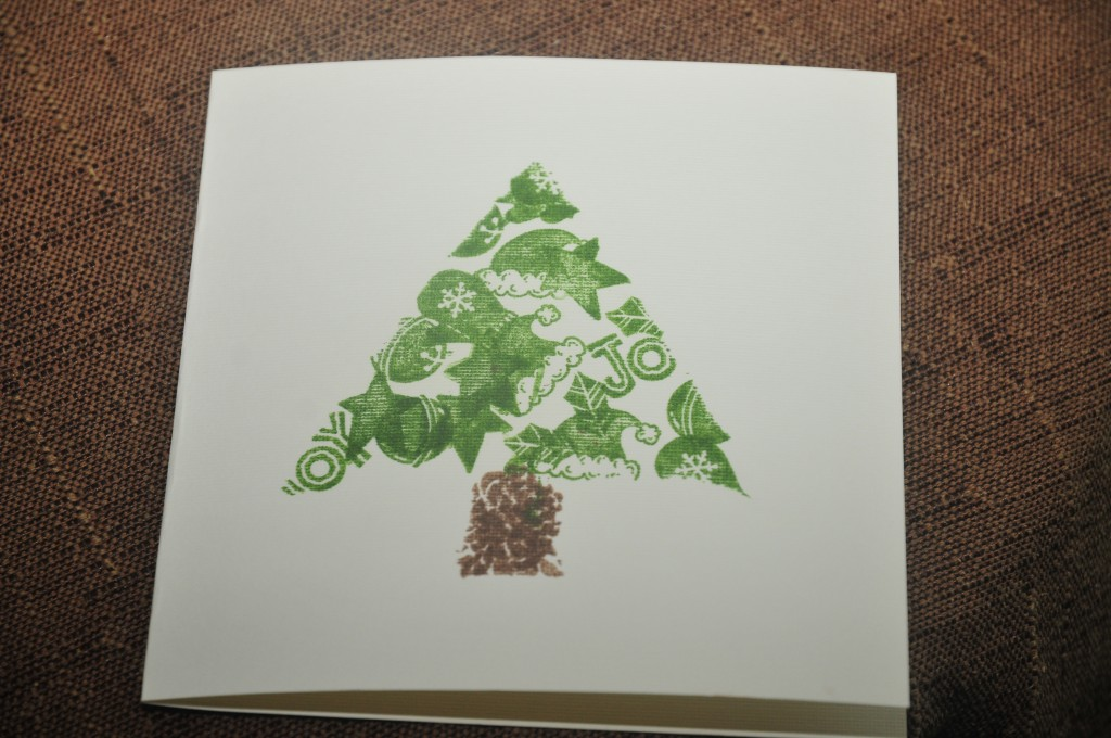 tree stamped design