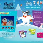 Frosty the Snowman Winter Wonderland Website {And a Giveaway!}