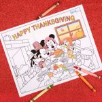 Disney Crafts for Thanksgiving