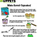 The Muppets: Kermit Cupcakes and Printables
