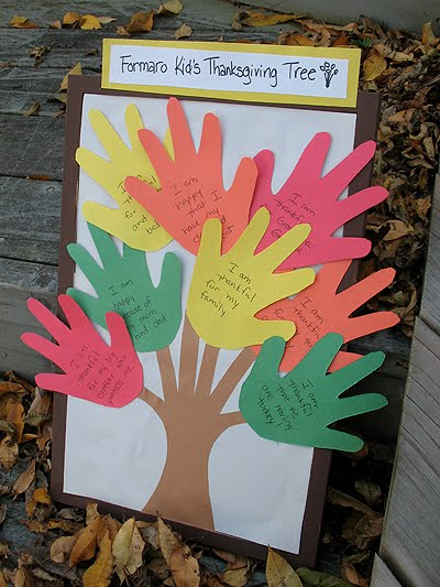 Kid's Thankful Tree