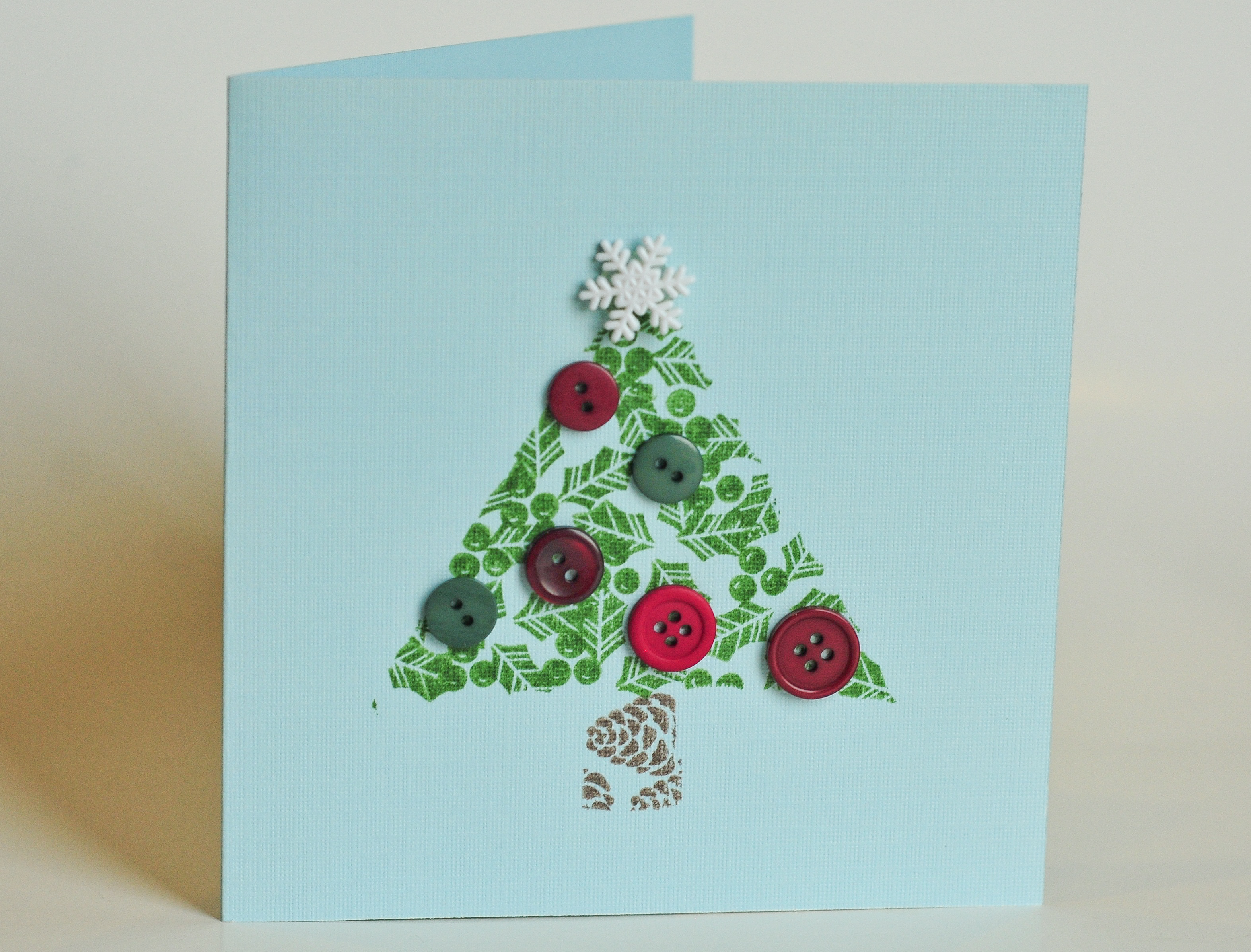 Easy Christmas Cards To Make With Children.Make It Pretty Wednesdays Cute Christmas Cards That Kids