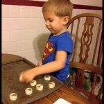 Wordless Wednesday: Baking Cookies #LazyMom