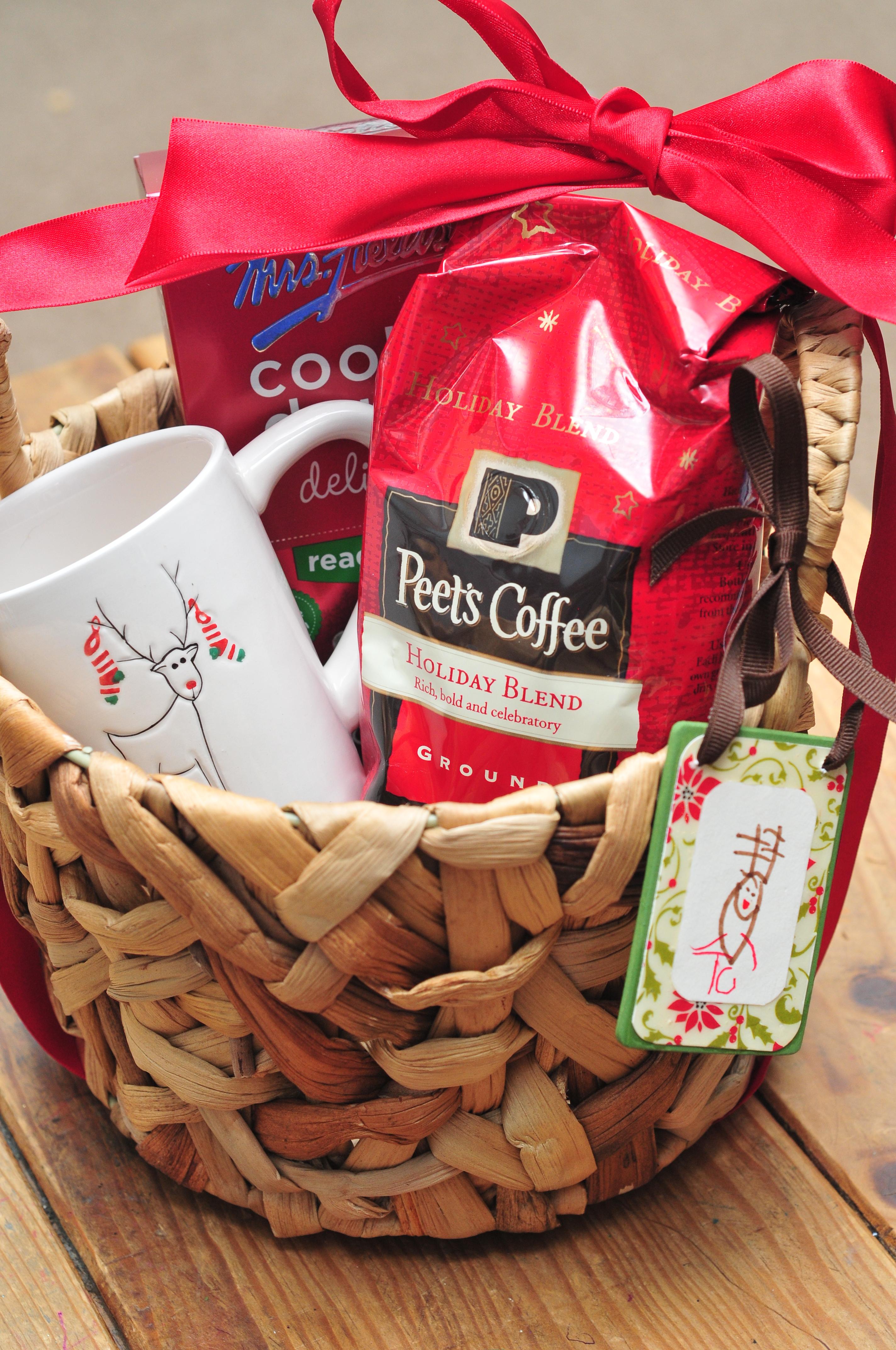 coffee gift baskets ideas - coffee drinker