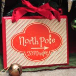Make Your Own Festive North Pole sign!