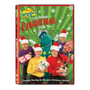 The Wiggles It's always Christmas with you dvd