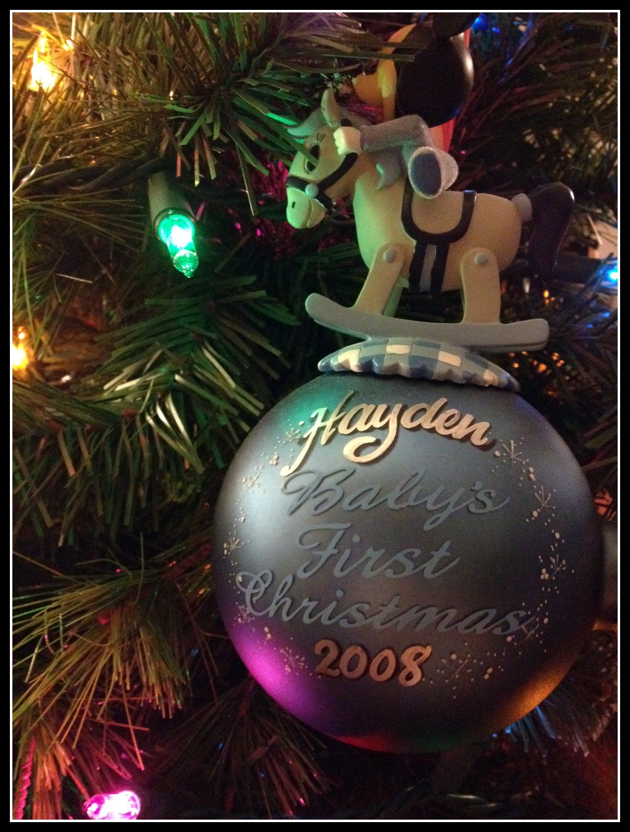 Personalized Disney Ornaments Sippy Cup Mom