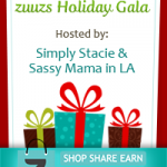zuzus Holiday Gala! #Win a Canon PowerShot Elph Camera!