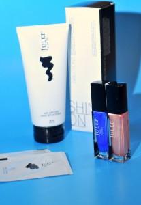Julep nail polish and glow on hand cream