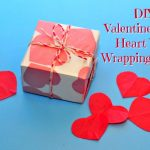 Valentine's Day Heart Wax Wrapping Paper & Baker's Twine