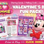 Mickey Mouse Clubhouse: I Heart Minnie Valentine's Day Activities!