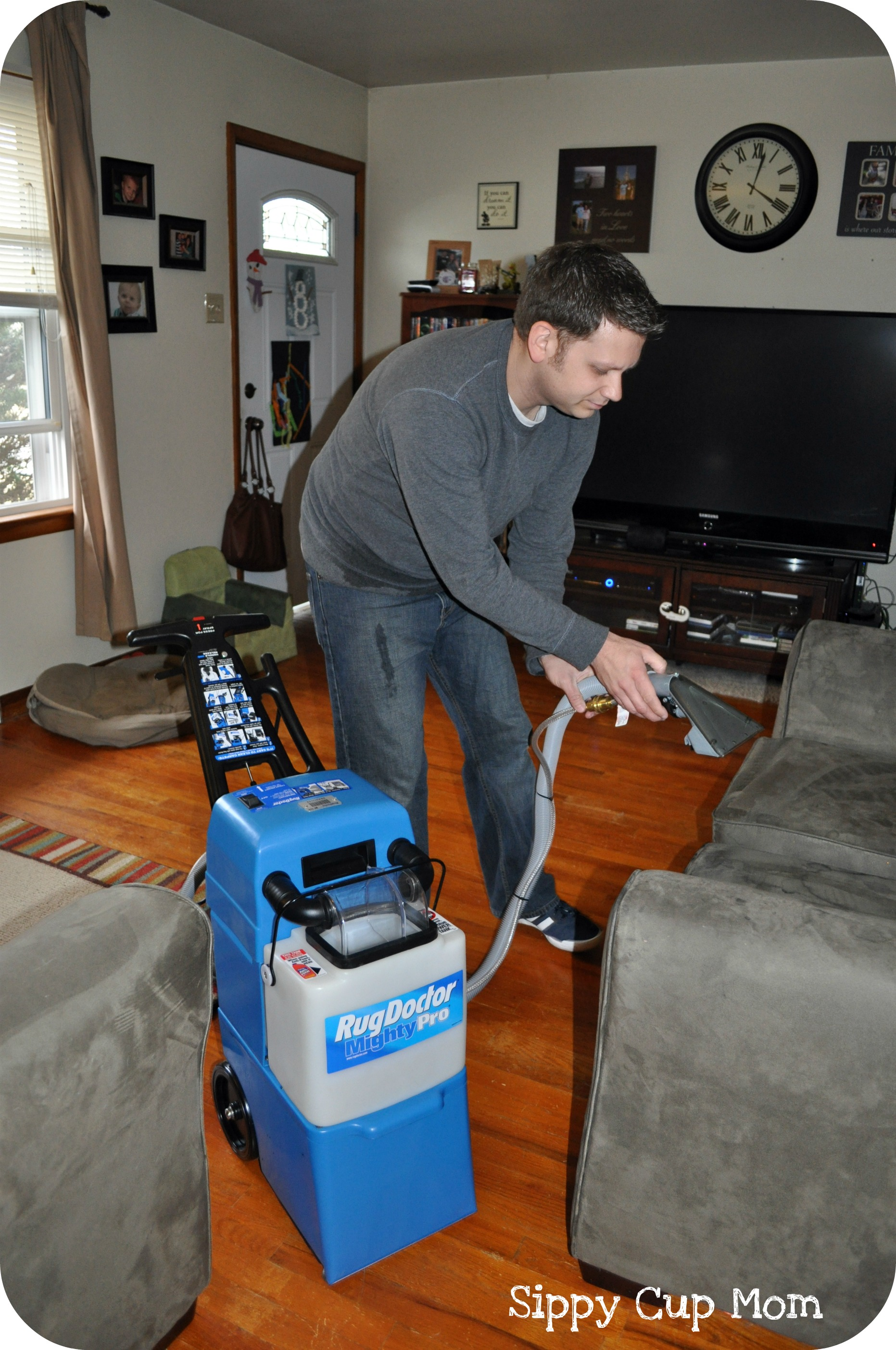 Cleaning Couches with the Rug Doctor