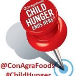 #ChildHunger Ends Here Twitter Chat with ConAgra Foods {April 2nd}