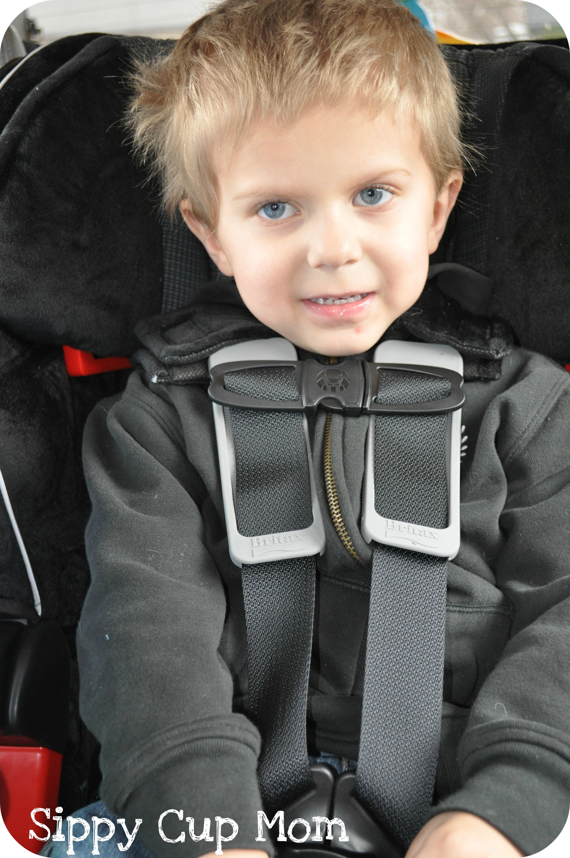 Review Britax Frontier 85 Sict Combination Harness 2 Booster Seat Sippy Cup Mom
