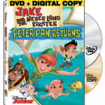Giveaway: Jake and the Never Land Pirates: Peter Pan Returns DVD