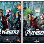 Disney News: The Avengers Lego Poster