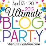 Welcome to the Ultimate Blog Party! #UBP12