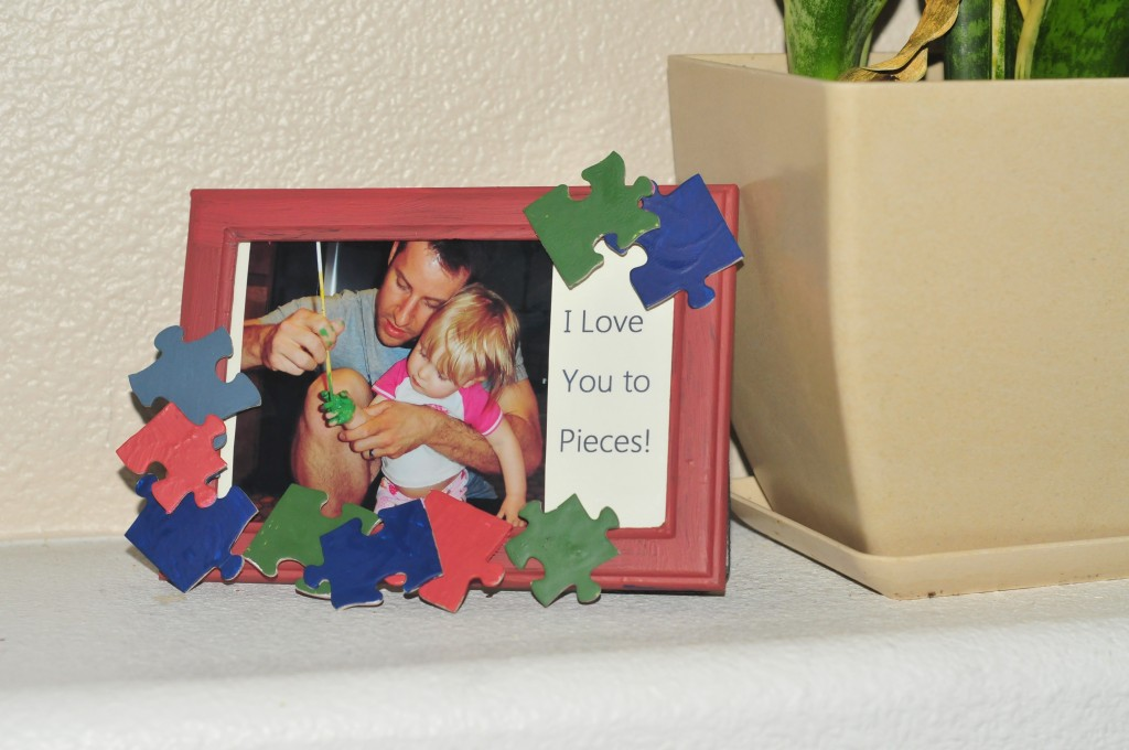 Father's Day Puzzle Frame