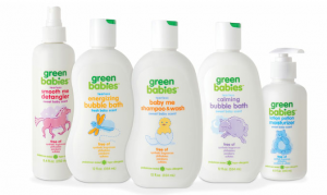 Green Babies body care line