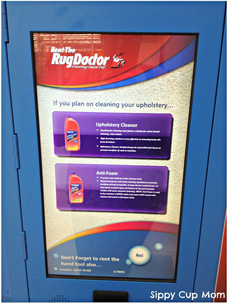 How To Rent A Rug Doctor Machine Sippy Cup Mom