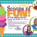 Scoops of Fun at the Magic House to Benefit SSM Cardinal Glennon #STL {Giveaway}