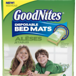 Giveaway: GoodNites Disposable Bed Mats and a $15 Walmart Gift Card {4 Winners!}
