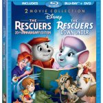 Review: The Rescuers and The Rescuers Down Under on Blu-Ray