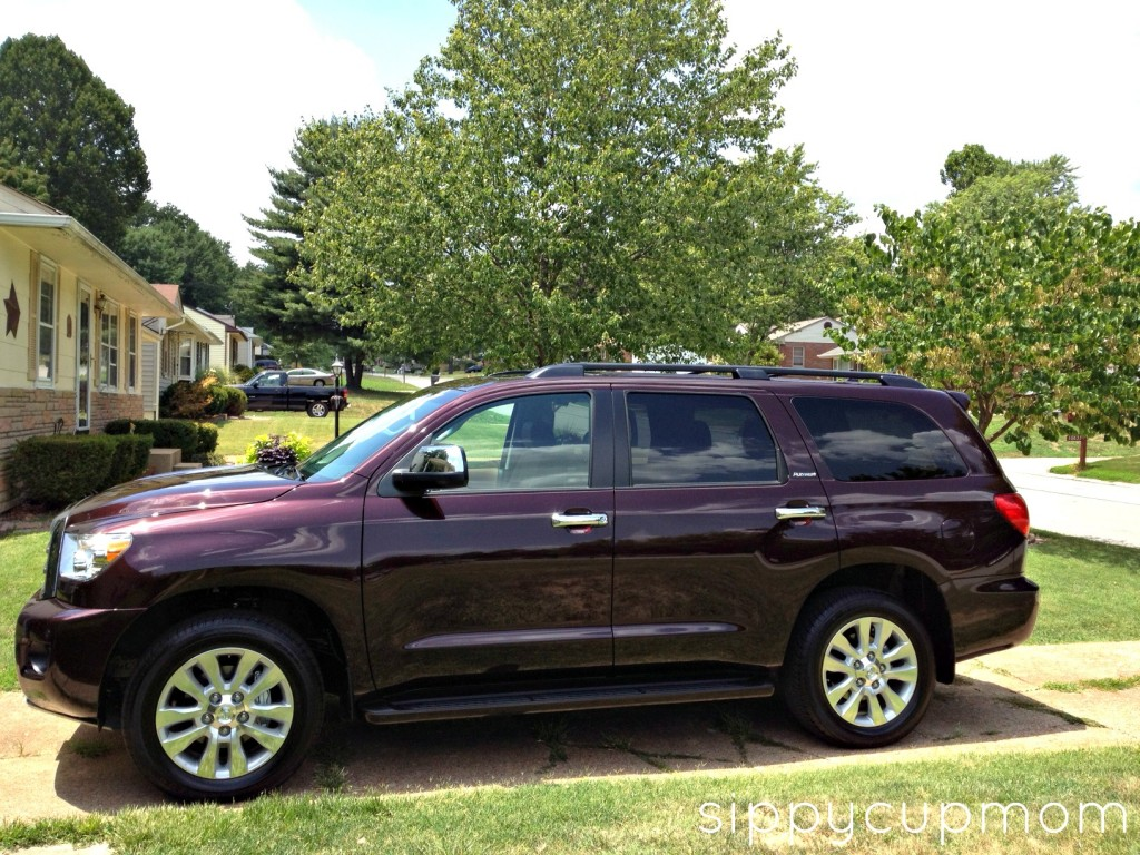 review 2012 toyota sequoia sippy cup mom. Black Bedroom Furniture Sets. Home Design Ideas