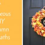 Make It Pretty Wednesdays: Amazing List of DIY Autumn Wreaths!